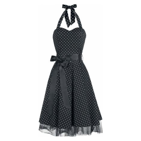 H&R London - Small Dot Dress - Dress - black