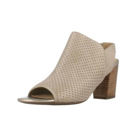 Geox D EUDORA women's Sandals in Brown