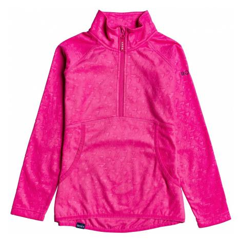 sweatshirt Roxy Cascade - MML2/Beetroot Pink Risingpeak Embos - girl´s
