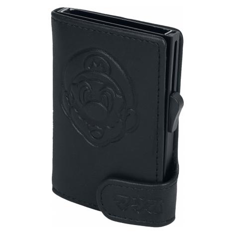 Super Mario - Card Click Holder - Card Holder - black