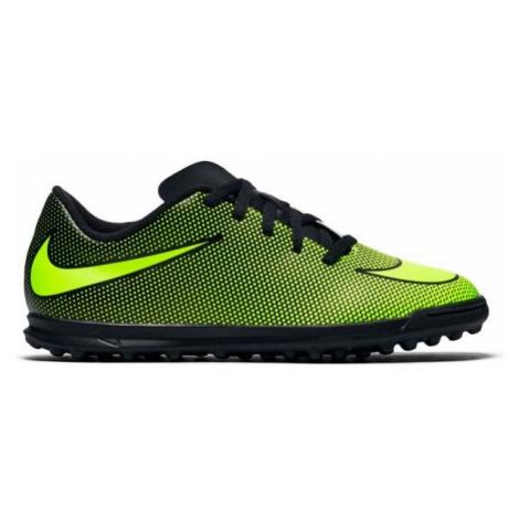 Nike BRAVATA II TF JR black - Children's turf football boots