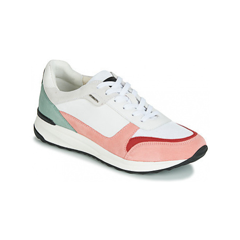 Geox D AIRELL women's Shoes (Trainers) in White