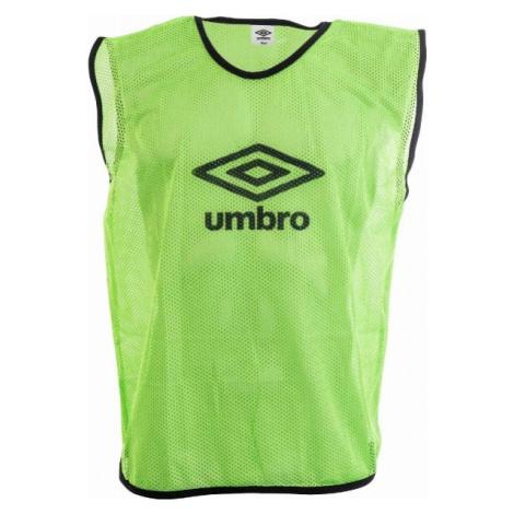 Umbro MESH TRAINING BIB - 70X65CM - Senior green - Adults' training jersey