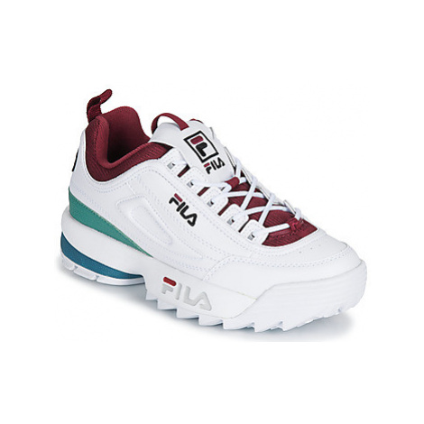 Fila DISRUPTOR CB LOW WMN women's Shoes (Trainers) in White