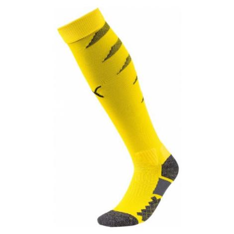 Puma TEAM FINAL SOCKS yellow - Men's football socks