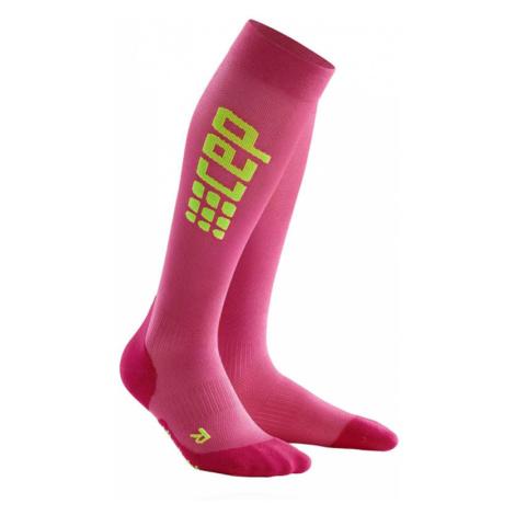 Pink women's thermal socks