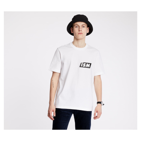 LACOSTE LIVE Lacostism Print Tee White