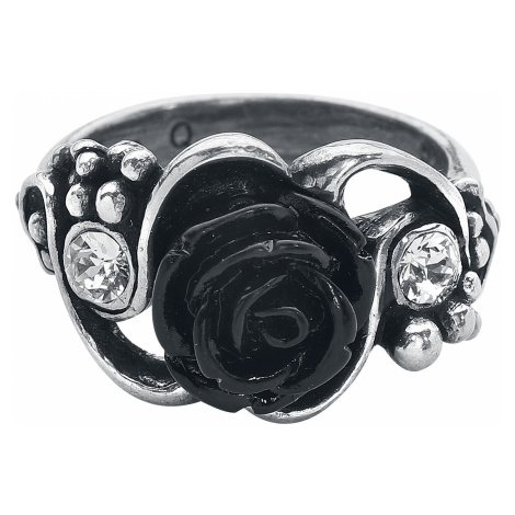 Alchemy Gothic - Bacchanal Rose Ring - Ring - silver-coloured