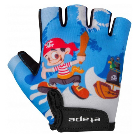 Etape REX blue - Kids' cycling gloves