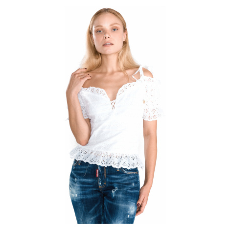 Guess New Isotta Top White