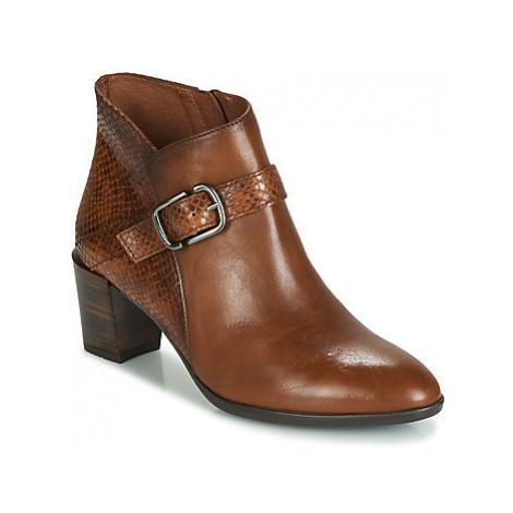 Hispanitas RITA women's Low Ankle Boots in Brown