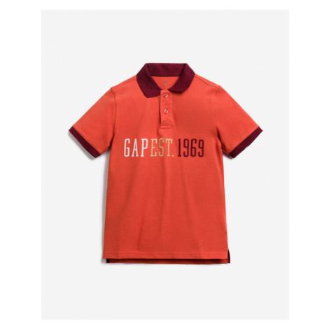 GAP Kids Polo Shirt Red