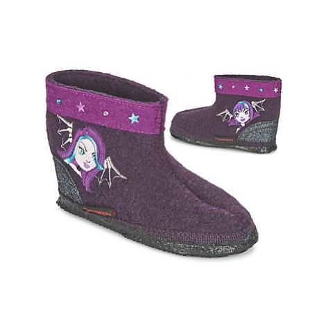 Giesswein Krefeld girls's Children's Slippers in Purple
