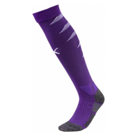 Puma TEAM FINAL SOCKS purple - Men's football socks