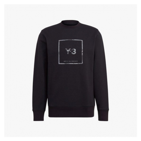 adidas u Square Label Graphic Crew Sweatshirt