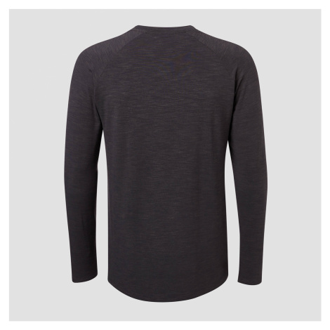 MP Men's Performance Long-Sleeve T-Shirt - Black Marl Myprotein