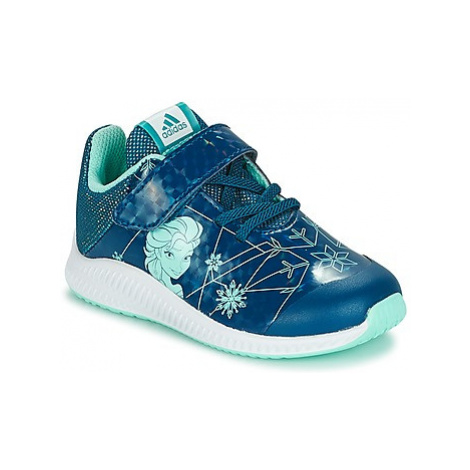 Adidas DY FROZEN FORTARUN girls's Children's Shoes (Trainers) in Blue