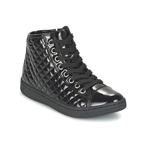 Geox CREAMY girls's Children's Shoes (High-top Trainers) in Black