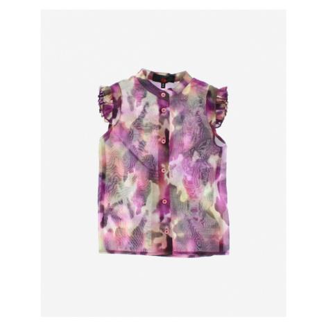John Richmond Girl Blouse Violet Colorful