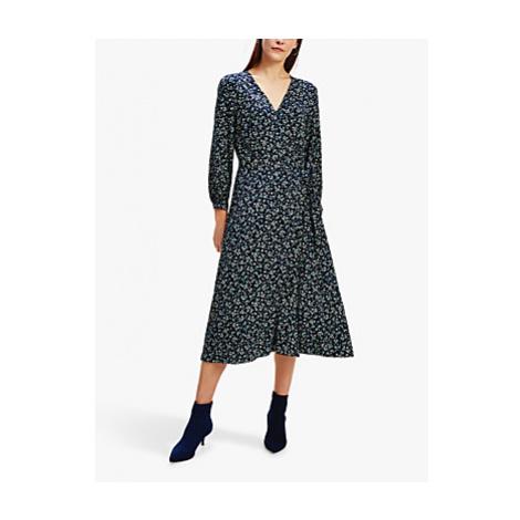 Tommy Hilfiger Raya Prairie Print Dress, Blue/Multi