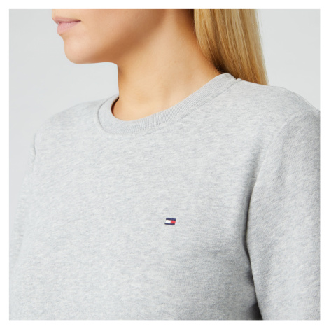 Tommy Hilfiger Women's Heritage Crew Neck Sweatshirt - Light Grey Heather