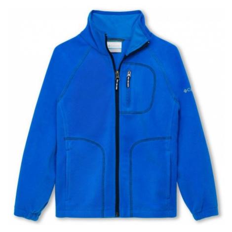 Columbia FAST TREK II FULL ZIP blue - Children's sweatshirt