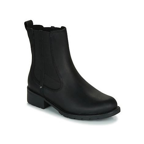 Clarks ORINOCO HOT women's Mid Boots in Black