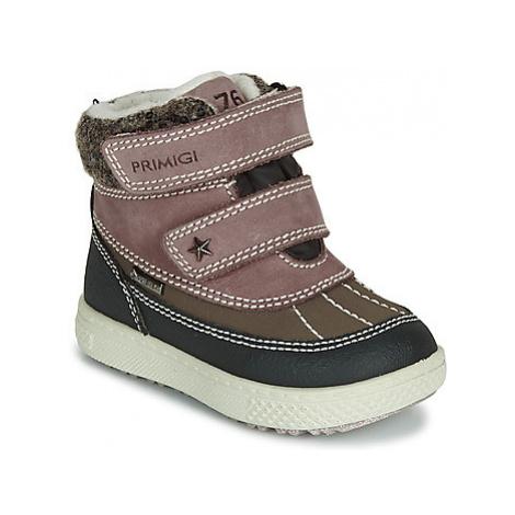Primigi PEPYS GORE-TEX girls's Children's Mid Boots in Brown