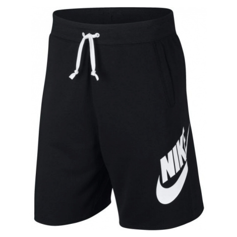 Nike NSW HE SHORT FT ALUMNI black - Men's shorts