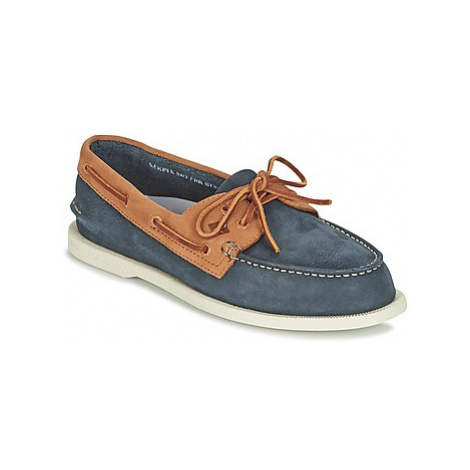 Sperry Top-Sider A/O 2-EYE WASHABLE men's Boat Shoes in Blue