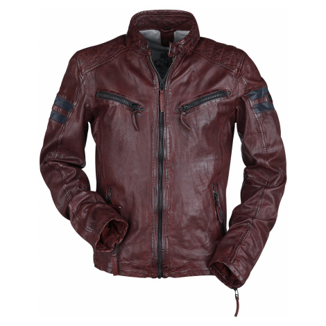 Gipsy - GBRemmy SF LACAV - Leather jacket - wine red