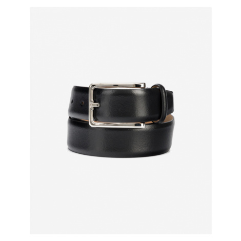 Calvin Klein Score Line Buckle Fixed Belt Black