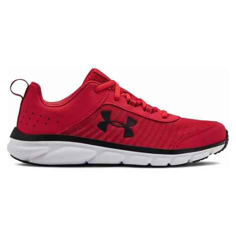 Under Armour Grade School Assert 8 Kids Sneakers Red