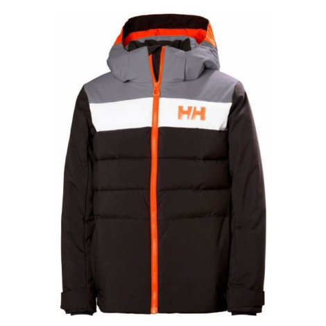 Helly Hansen JR CYCLONE JACKET black - Boys' skiing jacket