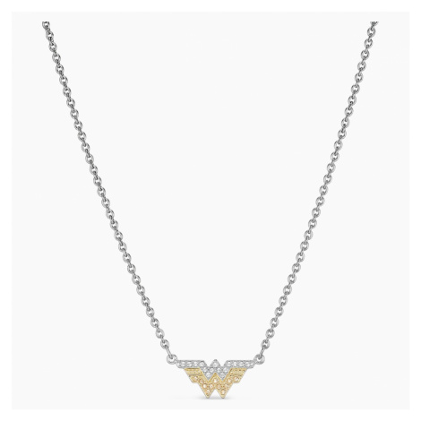 Fit Wonder Woman Necklace, Gold tone, Mixed metal finish Swarovski