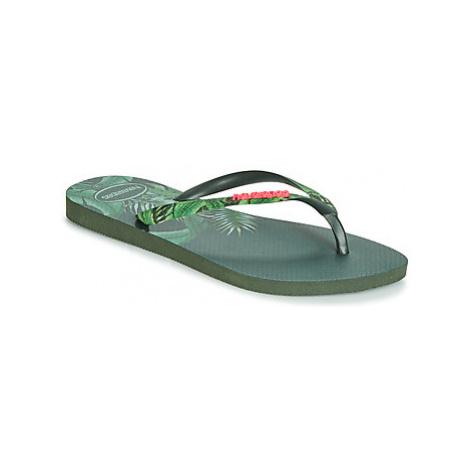 Havaianas SLIM SENSATION women's Flip flops / Sandals (Shoes) in Green