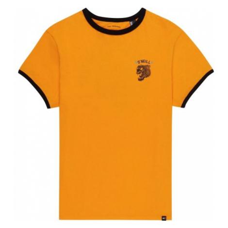 O'Neill LB BACK PRINT S/SLV T-SHIRT yellow - Boy's T-shirt