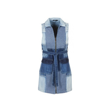 Desigual EREDAR women's Dress in Blue