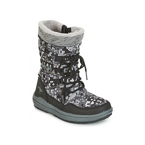 Kangaroos LORE girls's Children's Snow boots in Black