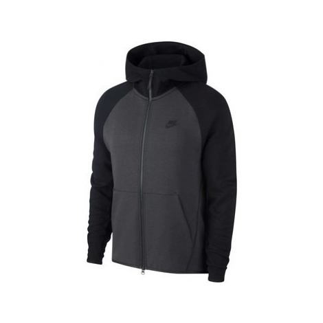 Nike Tech Fleece Hoodie men's Sweatshirt in Grey