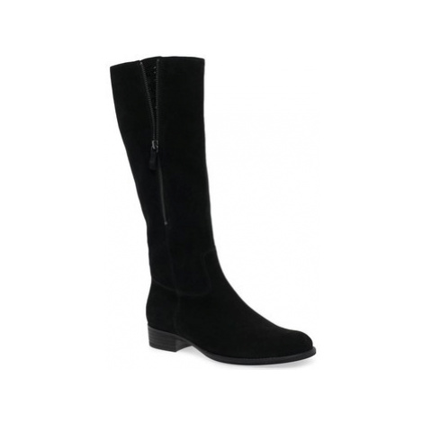 Gabor Crunch Womens Exposed Jewel Long Boots women's High Boots in Black