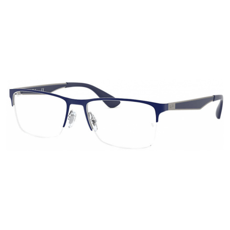 Ray-Ban Rb6335 Man Optical Lenses: Multicolor, Frame: Blue - RB6335 2947 54-17