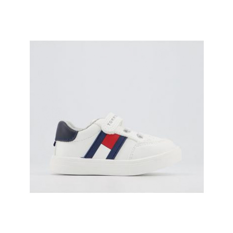 Tommy Hilfiger Tommy Sneaker 4-6 WHITE BLUE RED FLAG