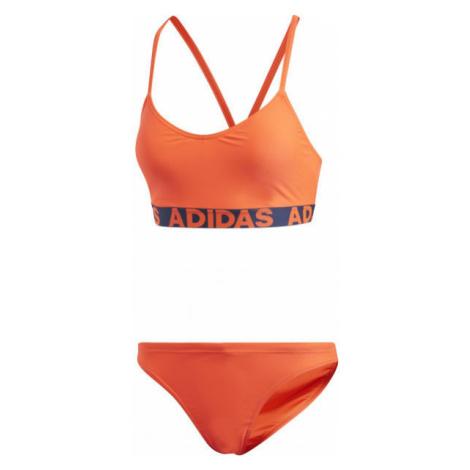 adidas BEACH WOMEN BRANDED BIKINY orange - Women's bikini