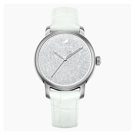 Crystalline Hours Watch, White Swarovski