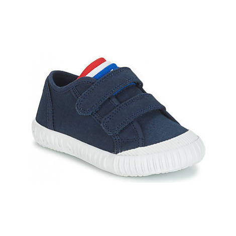 Le Coq Sportif NATIONALE INF boys's Children's Shoes (Trainers) in Blue