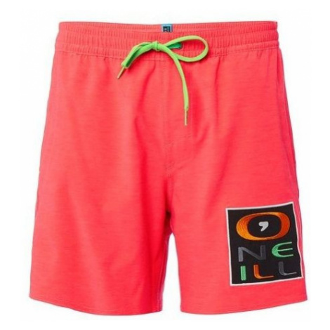 O'Neill PM RE-ISSUE LOGO SHORTS red - Men's swimming shorts