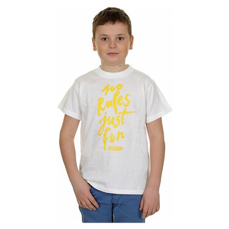 T-Shirt Blackcomb No Rules Just Fun - White/Yellow