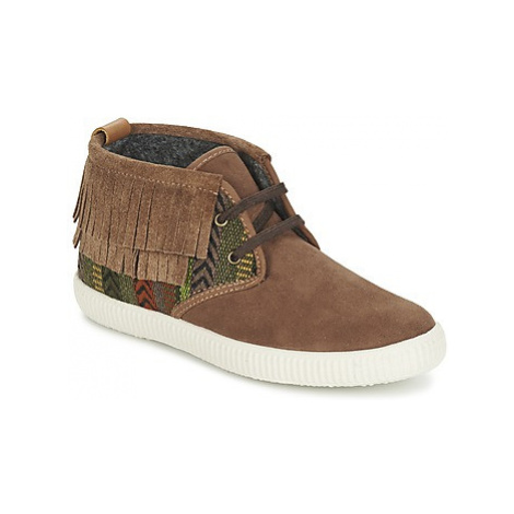 Victoria SAFARI FLECOS ANTELINA ETNIC women's Shoes (High-top Trainers) in Brown