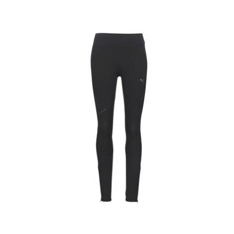 Puma RUN LONG TIGHT W.BLK women's Tights in Black